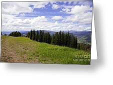 This Way To Eagle Nest - Vail Greeting Card