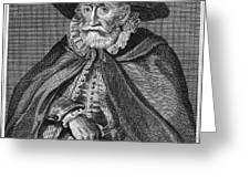 Thomas Hobson (1544-1631) Greeting Card