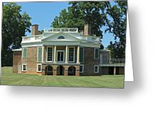 Thomas Jeffersons Poplar Forest Greeting Card