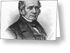 Thomas O. Larkin (1802-1858). American Merchant And California Pioneer. Wood Engraving, 19th Century Greeting Card