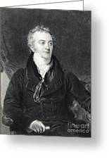 Thomas Young, English Polymath Greeting Card by Photo Researchers
