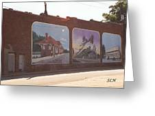 Thomasville Painted Wall Greeting Card