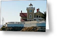 Three Brothers Island Light Station Greeting Card