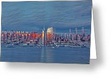 Three Times New York City Greeting Card