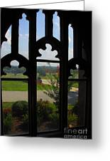 Through The Chapel Arches Greeting Card