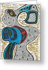 Thunder Goose Greeting Card