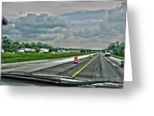 Thunder Road Greeting Card