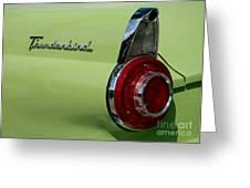 Thunderbird 1 Greeting Card