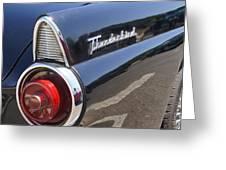 Thunderbird Detail Greeting Card