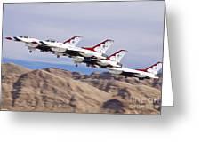 Thunderbirds Gear Up Greeting Card