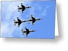 Thunderbirds In Flight Greeting Card