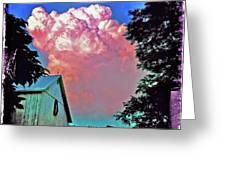 Thunderhead Greeting Card by Kevyn Bashore