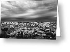 Thunderous Morning Over Cappadocia Greeting Card