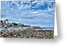 Tides Out Greeting Card by Dan Crosby