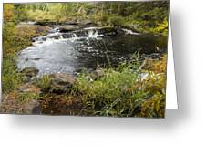 Tidga Creek Falls 2 Greeting Card