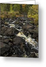Tidga Creek Falls 3 Greeting Card
