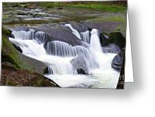 Tiered Waterfals Greeting Card