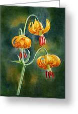 Tiger Lilies #3 Greeting Card