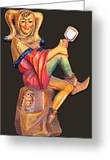 Till Eulenspiegel - The Merry Prankster Greeting Card by Christine Till