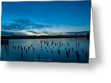 Tiltow Beach Greeting Card by Sarai Rachel