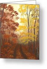 Timber Road Greeting Card