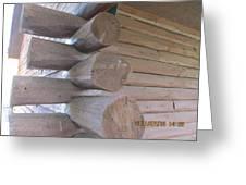 Timbers Greeting Card