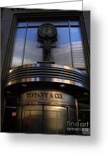 Time At Tiffany's Greeting Card