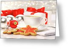 Time For A Tea Break  Greeting Card