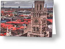 Time For Munich Greeting Card