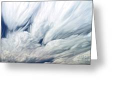 Time-lapse Clouds Greeting Card
