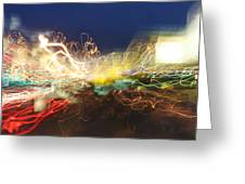Time Tunnel Greeting Card by Rick Rauzi