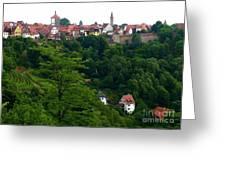 Timeless Rothenburg Greeting Card