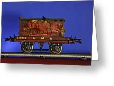 Tin Train Four Greeting Card