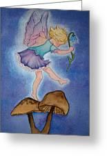 Tiptoe Fairy Greeting Card