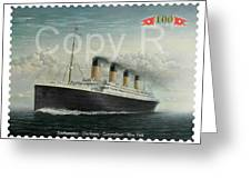 Titanic Memorial Stamp Greeting Card
