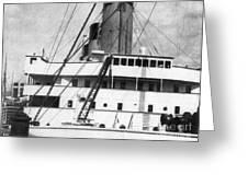 Titanic: The Bridge, 1912 Greeting Card