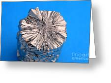 Titanium Crystals Greeting Card