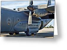 Tn C-130 Greeting Card