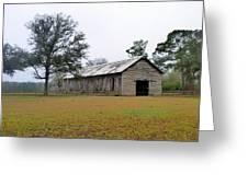 Tobacco Barn Greeting Card