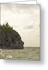 Tobermory Caves Greeting Card