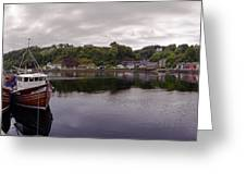Tobermory Harbor Greeting Card