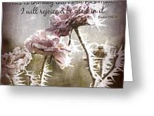 Today Greeting Card by Bonnie Bruno