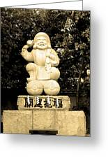 Tokyo Sculpture Greeting Card by Naxart Studio
