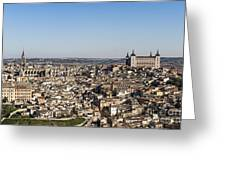Toledo Cityscape Greeting Card