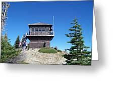 Tolmie Peak Lookout Greeting Card
