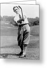 Tom Armour Wins Us Golf Title - C 1927 Greeting Card