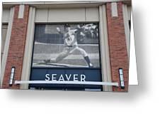 Tom Seaver 41 Greeting Card by Rob Hans