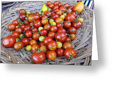 Tomato Time Greeting Card