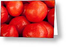 Tomatos Greeting Card