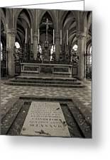 Tomb Of William The Conqueror Greeting Card
